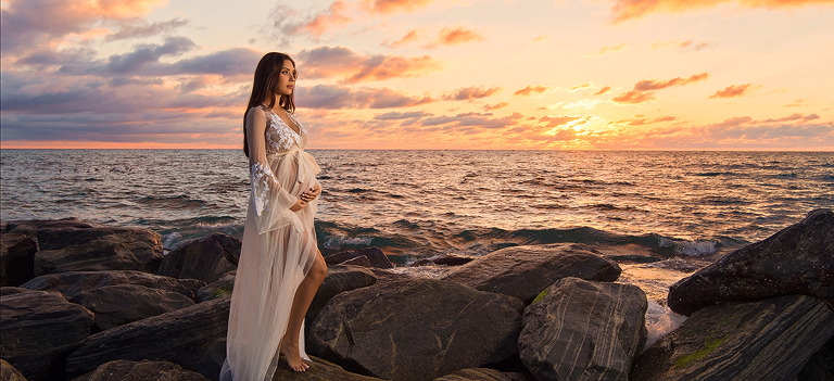 Sunrise Maternity Session