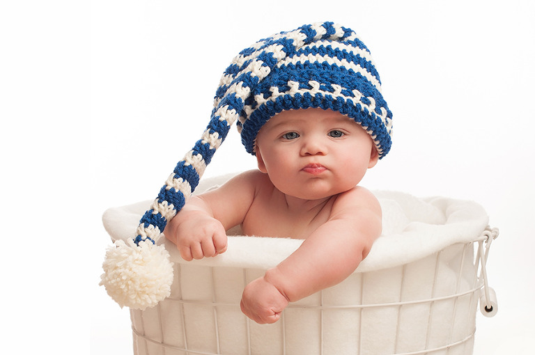Tough Baby with Stocking Cap
