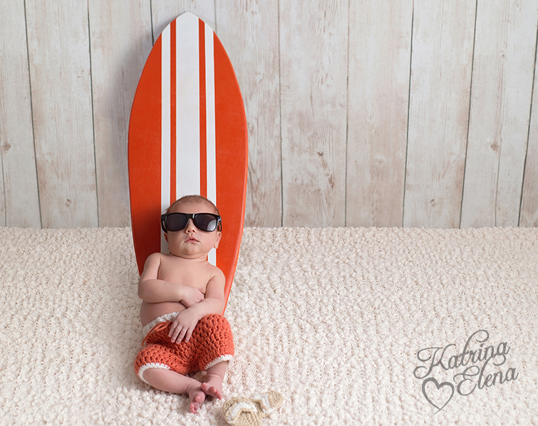 Surfer Baby Boy