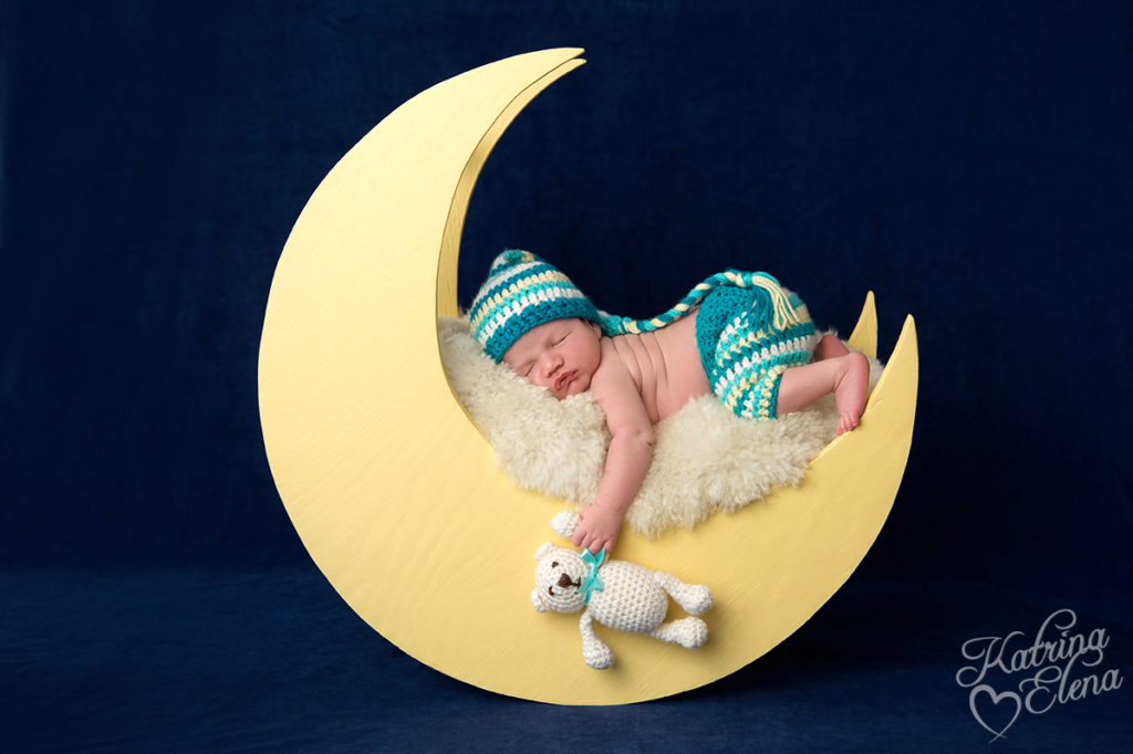 Baby on the Moon